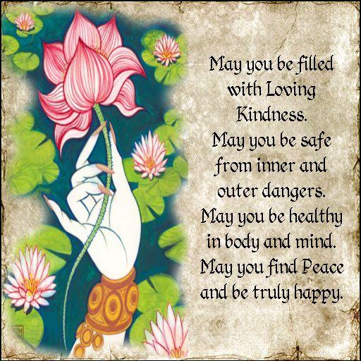 METTA Or Loving Kindness Prayer Every Morning I Repeat