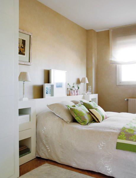 Práctico Cabecero Ambientes Con Atrevidos Juegos De Color Decoracion De Dormitorio Matrimonial Decoracion Habitacion Matrimonial Dormitorios