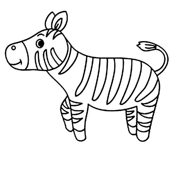 Zebra Cute Little Zebra Coloring Page Zebra Coloring Pages Lego Coloring Pages Unicorn Coloring Pages