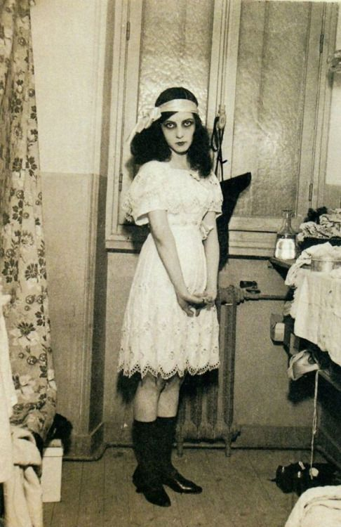 French actress, film director and writer Jeanne Roques aka Musidora