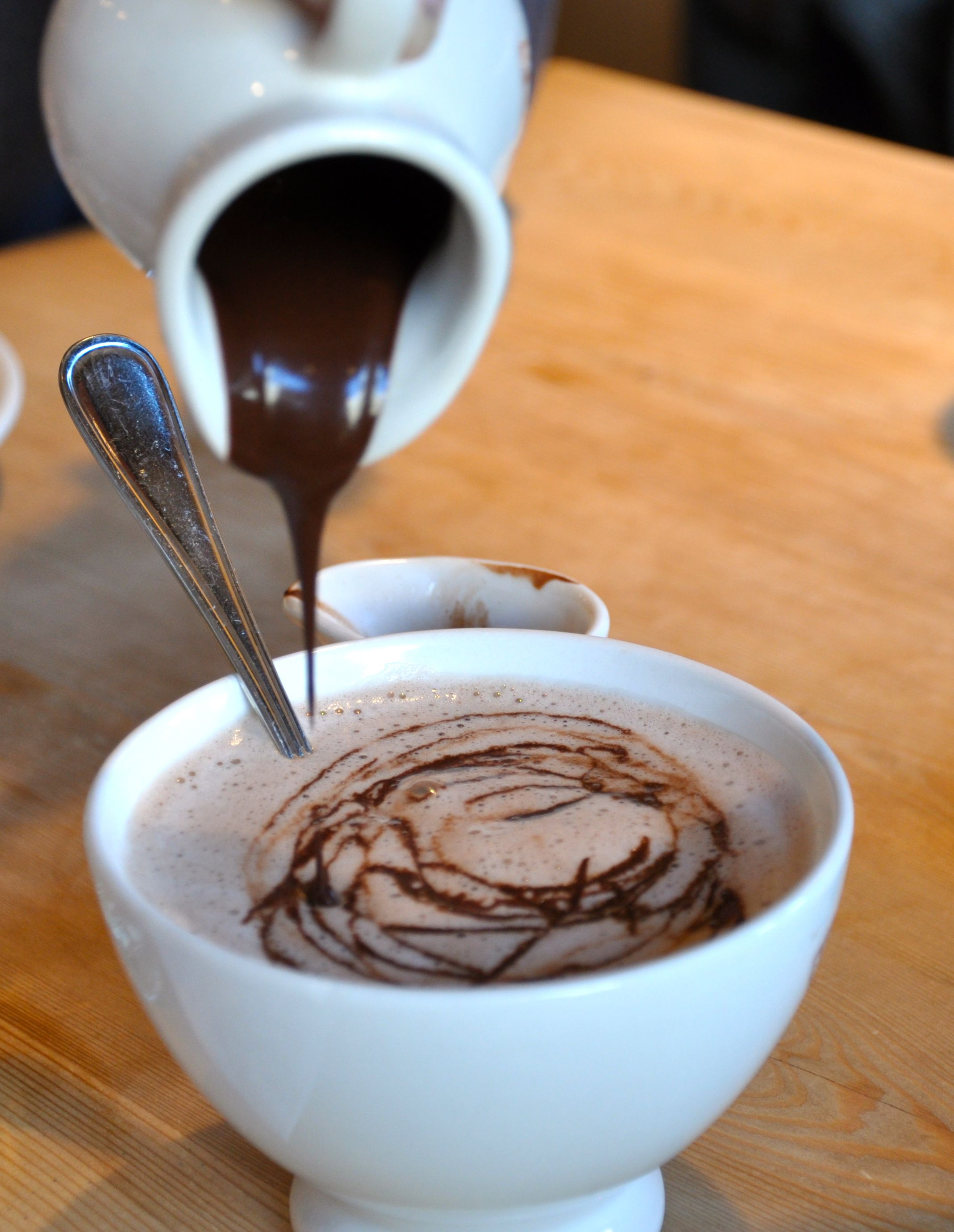 Dark Belgian Hot Chocolate - Le Pain Quotidien | Le Pain ...