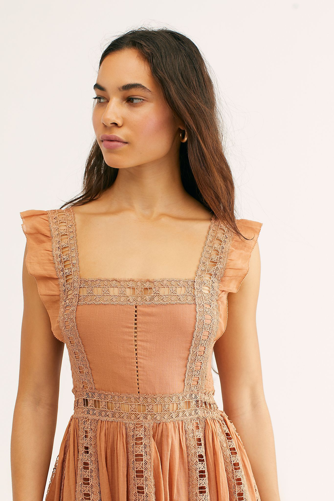 Lucky Slip Dresses Long Sleeve Embroidered Dress Mini Dress [ 2049 x 1366 Pixel ]