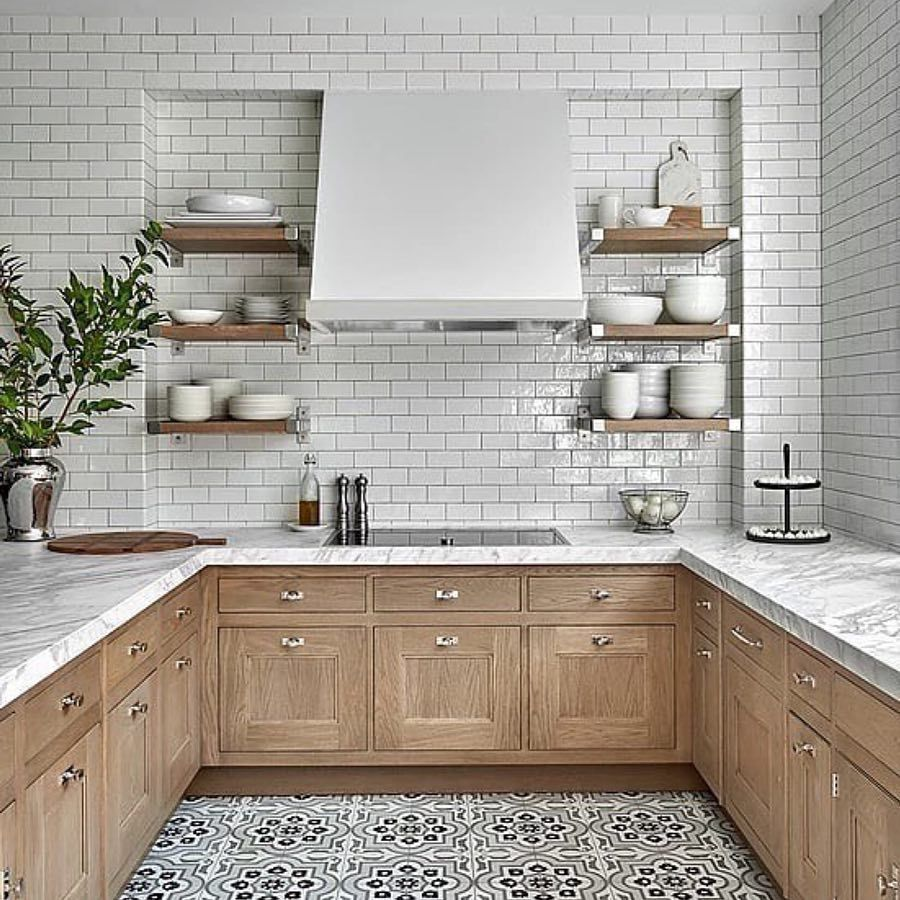 """In Order to Succeed® on Instagram: """"Soft and neutral kitchens like ..."""