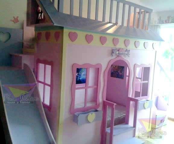 Preciosas camas y literas de castillos y casitas, en ellas ...