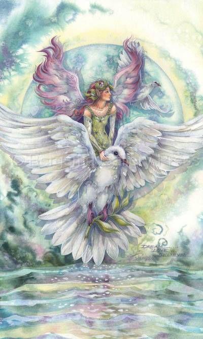 Bergsma Gallery Press::Paintings::Nature::Birds::Misc. Birds::Dream... Love... Believe - Prints
