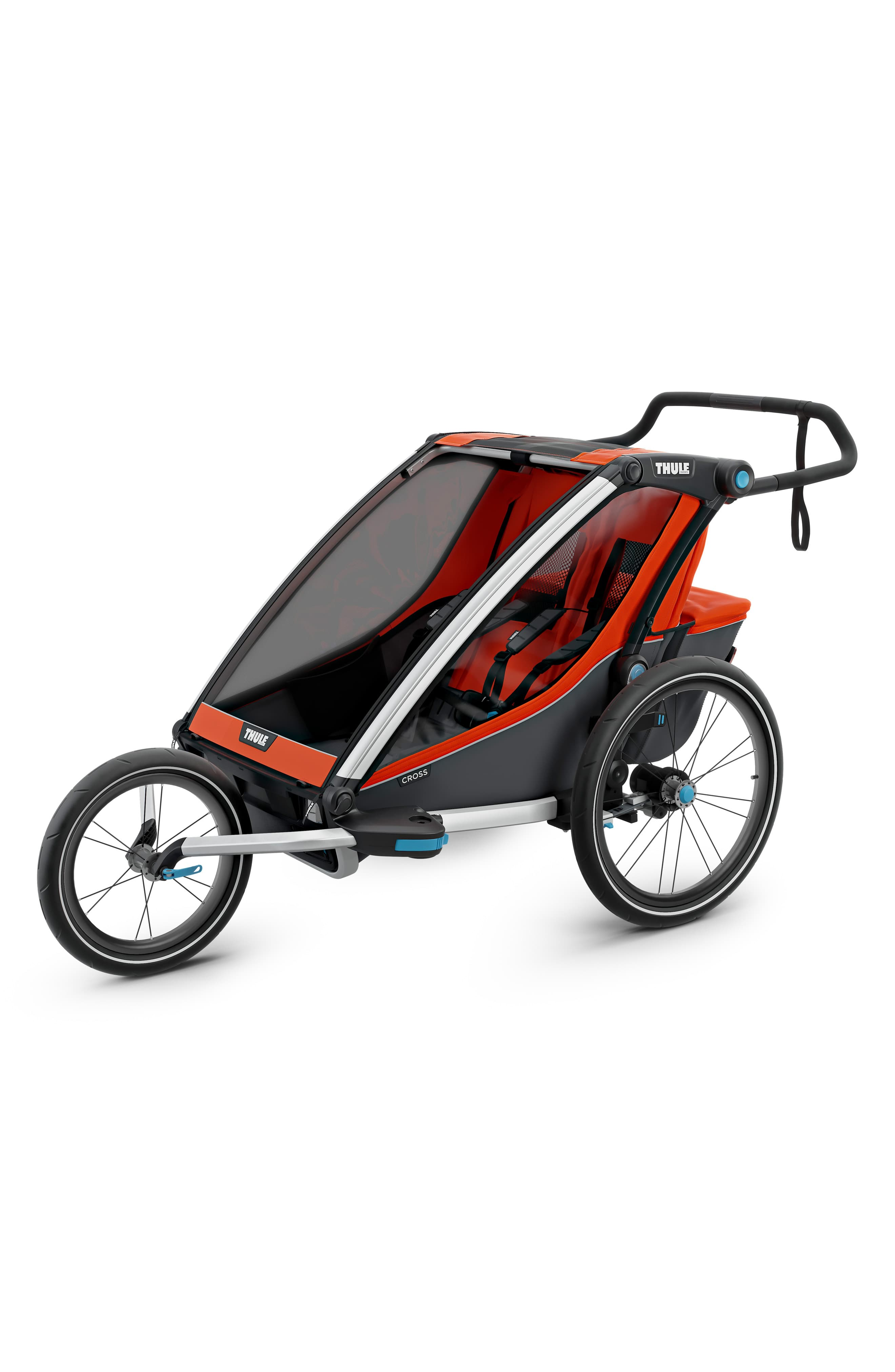 Infant Thule 2019 Chariot Cross 2 Multisport Double Cycle Trailer