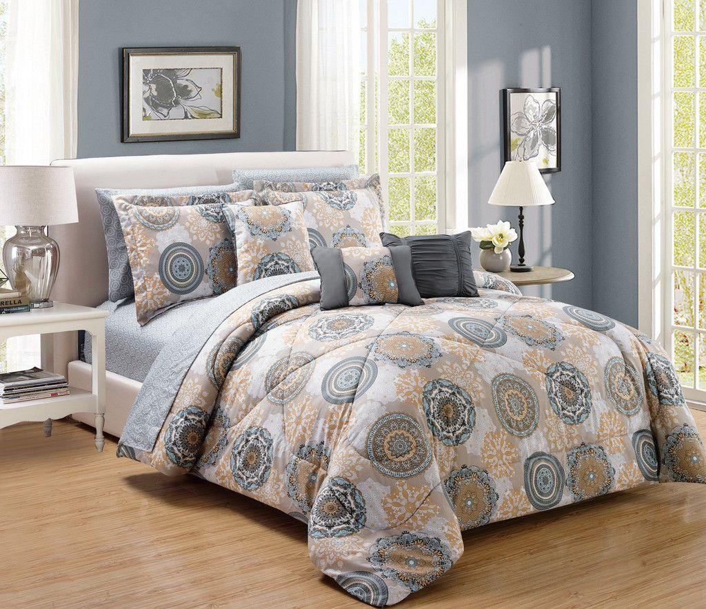 Gramercy 10 Piece Comforter Set Comforter Sets Bedding