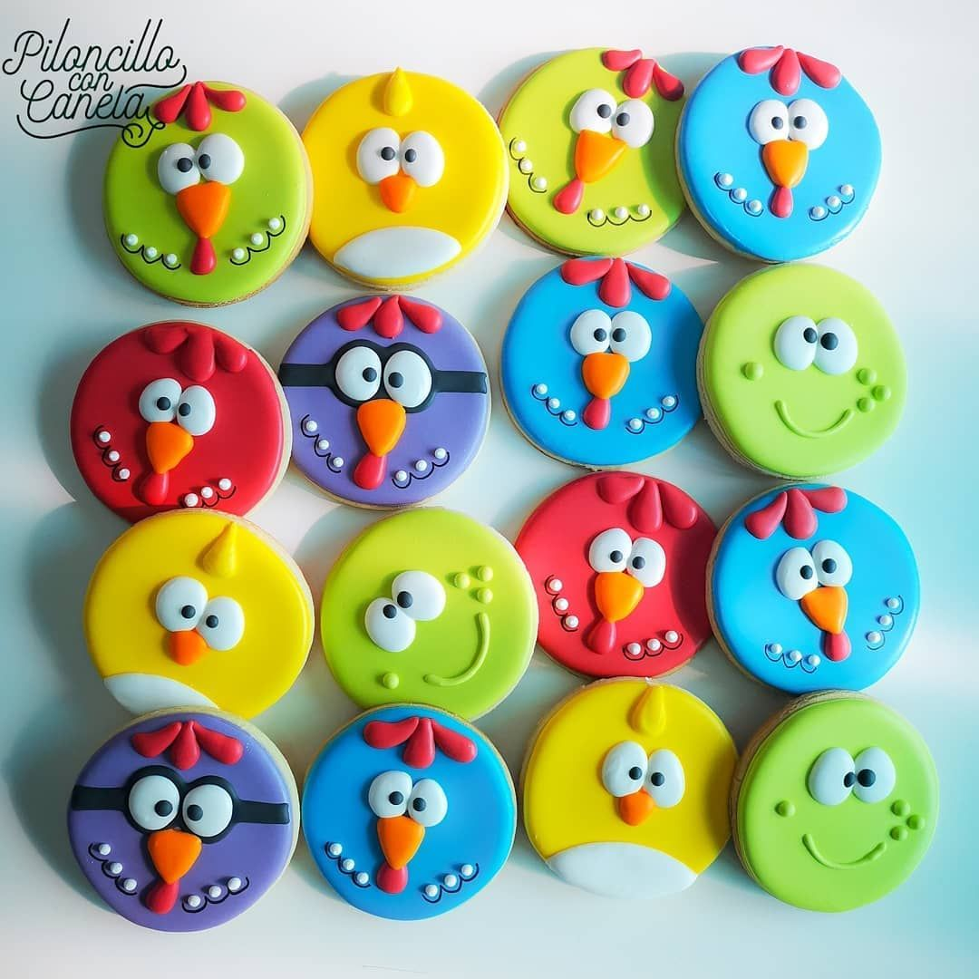 Pin En Galletas De Mantequilla Decorada Con Royal Icing