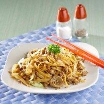 Fetucini Goreng Lada Hitam Sajian Sedap Resep Masakan Indonesia Resep Masakan Indonesia