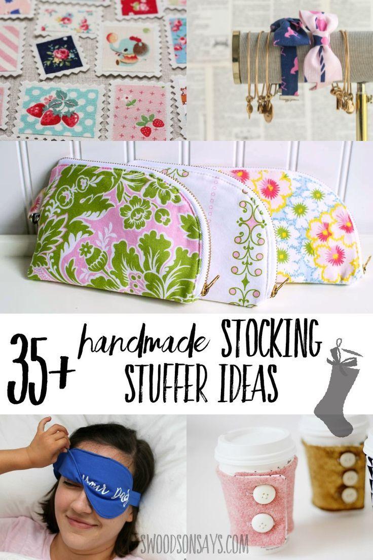 35+ Handmade stocking stuffer ideas to sew | Handmade Gifts ...