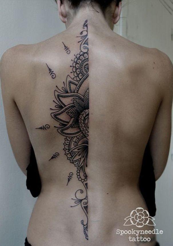 Incredible Mandala Tattoos For Women Tattoo Tatouage Tatouage