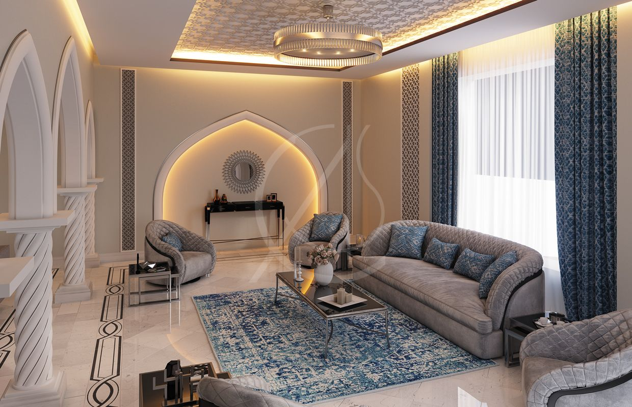 Modern Islamic Home Interior Design Muscat Oman House