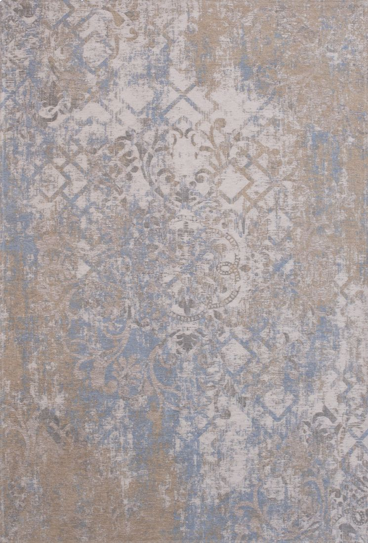 Fashion Teppich Rome Beige Braun Roses Used Look