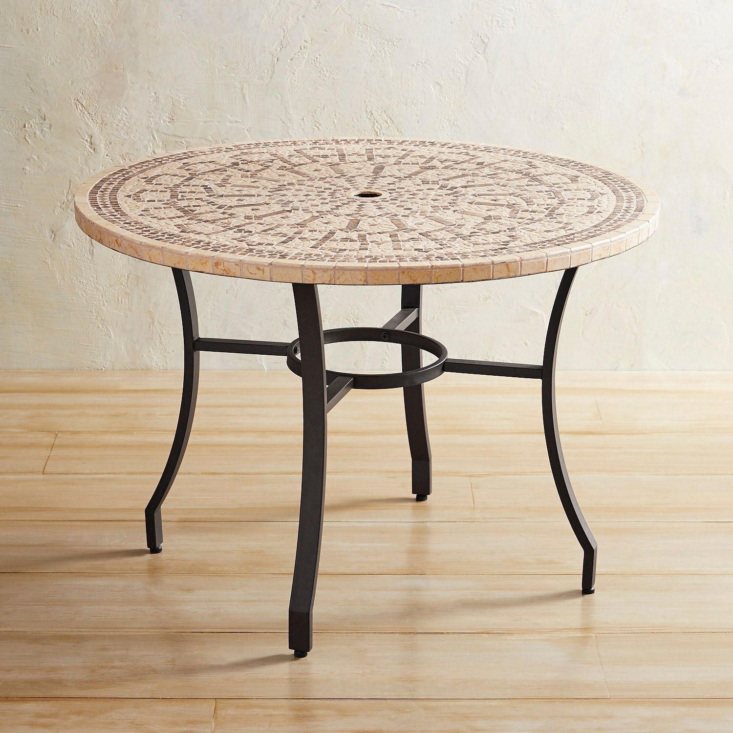 Abigail Marble Mosaic 43 Round Dining Table Pier 1 Imports