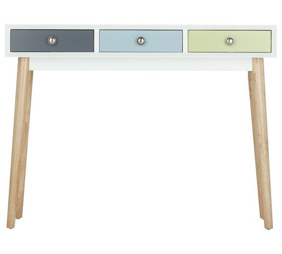 Buy Hygena Lumina Console Table Multicoloured At Argos Co Uk Visit Argos Co Uk To Shop Online For Console Tables Livi Hallway Storage Home Decor Argos Home