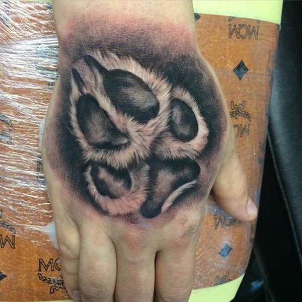 80 Amazing Dog Paw Tattoo Design Ideas Tattoo Fonts Dog Paw Tattoo Paw Tattoo Dog Tattoos