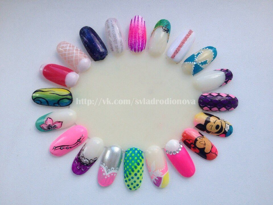 Nail Art Acrylic Paint Nailart Pinterest Nail Art Wheel Nail