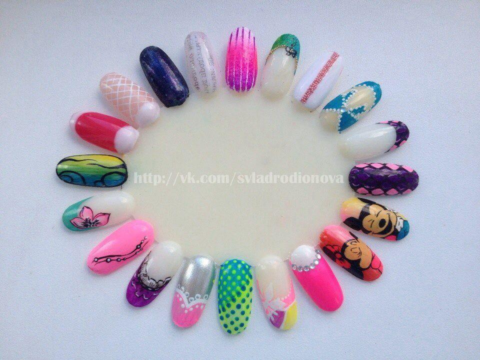 Nail art, acrylic paint | Nailart | Pinterest | Nail art wheel, Nail ...