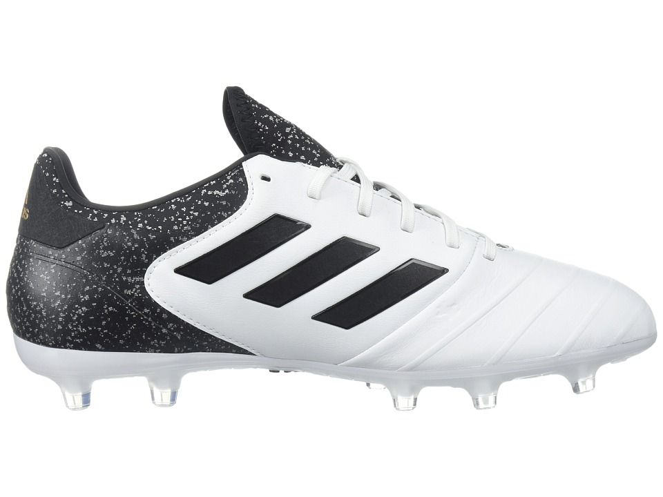 adidas Copa 18.2 FG Men s Soccer Shoes White Black Tactile Gold ... c28c1aed2f8