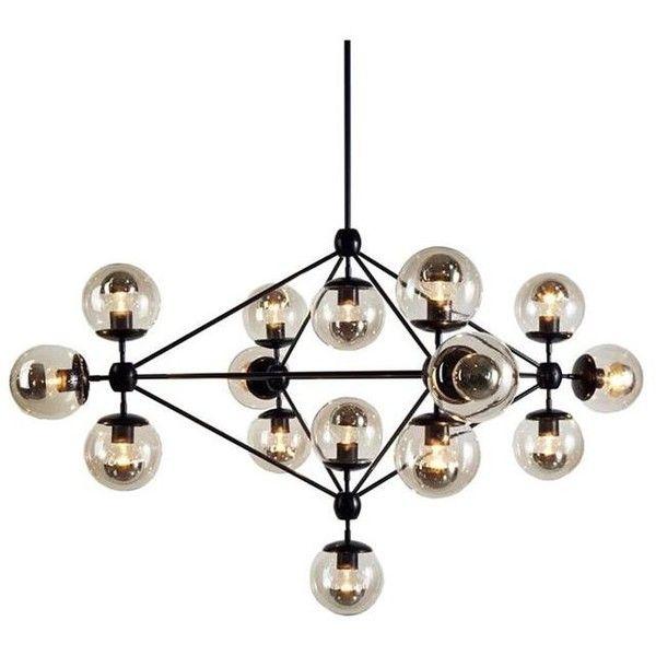 Newton ceiling lamp in black nebraska furniture mart 32680 inr ❤ liked on
