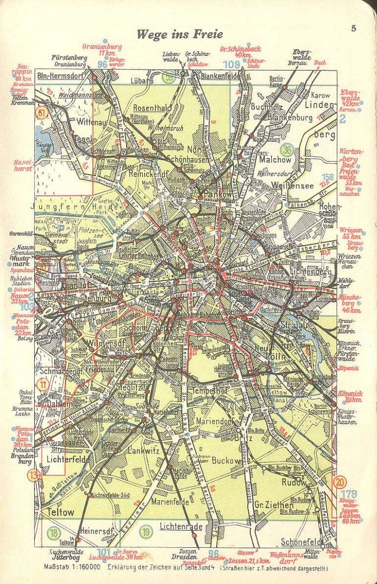 Vintage Infodesign 79 Map Old Maps City Maps