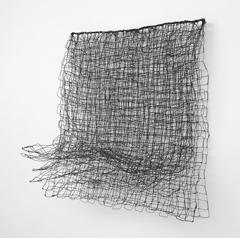 Denver 18 by Nancy Koenigsberg. This wall sculpture is created from ...