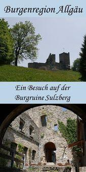 Photo of Interesting family destination: the Sulzberg castle ruins in the Allgäu Lake District …