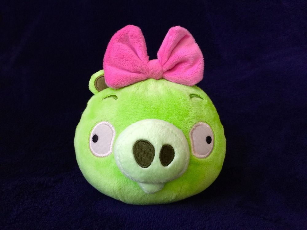 Angry Birds Plush 5 Inch Piglet With Sound In Toys Hobbies