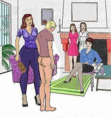 Polyfetishist Punished Before Mother In Law Domestic Discipline Submissive Husband Punished By Wife Before Their Daughters And I Assume Her