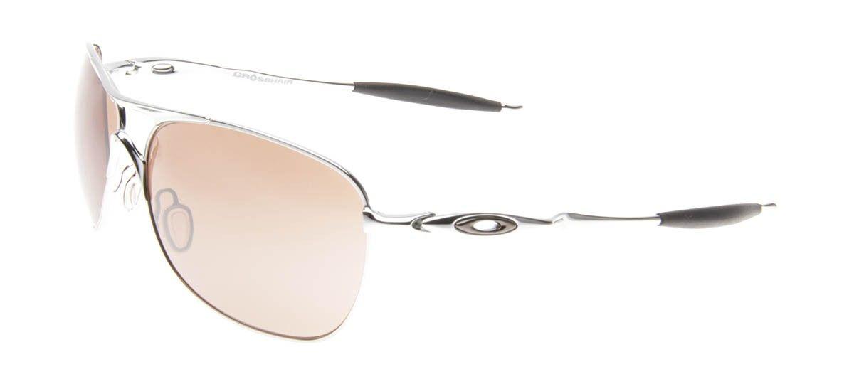 b4af47f7cee89 Oakley CrossHair - Prata - Óculos de Sol Masculino - Óculos de Sol
