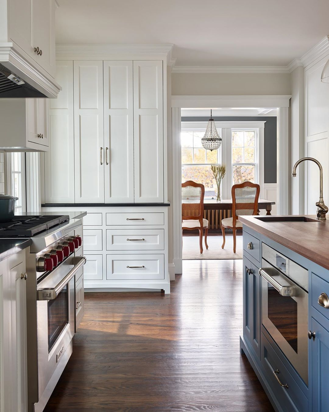 Block Brothers Custom Cabinets On Instagram Chantilly Lace Downpipe Soapstone And Wa In 2020 Blue Kitchen Island Butcher Block Island Kitchen Blue Kitchen Designs