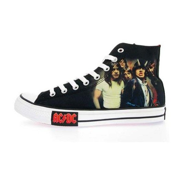 Converse All Star Chucks UE 48 UK 13 AC/DC Highway To Hell LIMITED EDITION NUOVO
