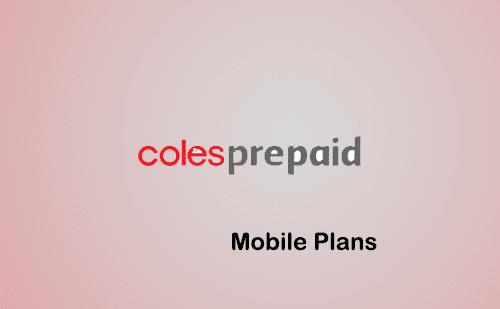 Coles prepaid phones