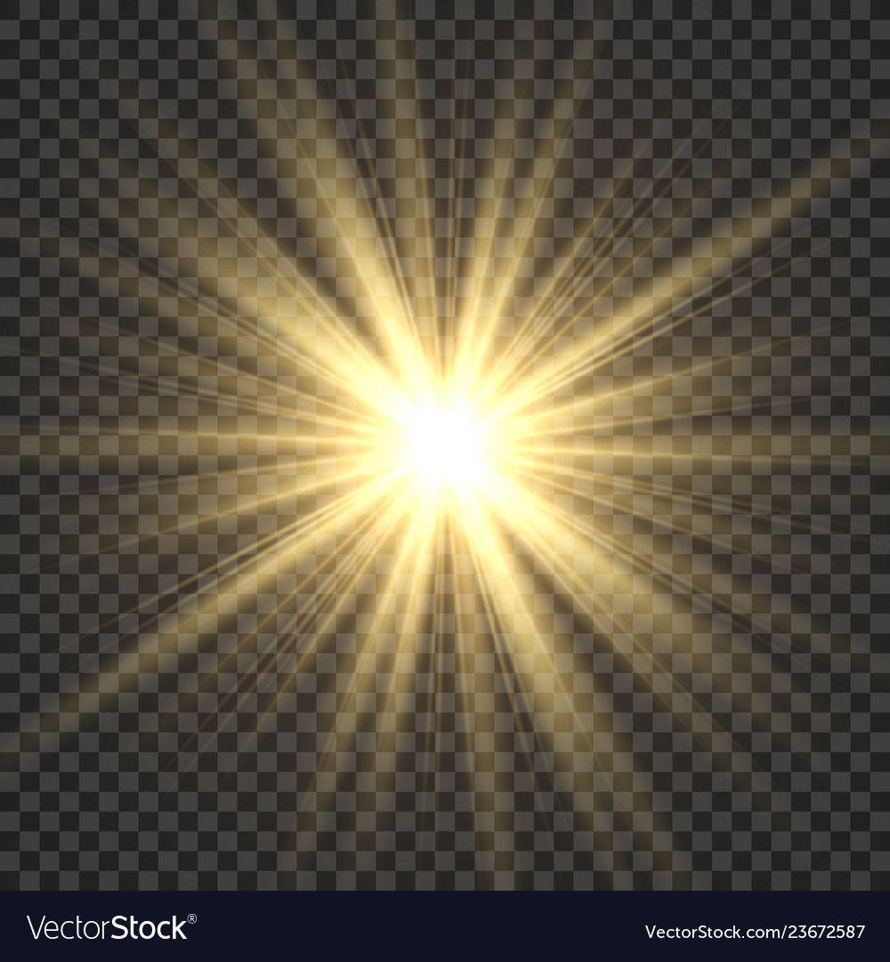 Realistic Sun Rays Yellow Sun Ray Glow Abstract Vector Image Sponsored Rays Yellow Realistic Sun Ad Sun Rays Sun Rays Tattoo Yellow Sun