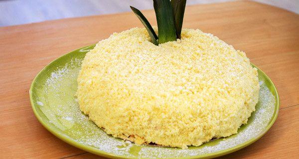 Pan di spagna, crema al limone, bagna all\'ananas | Prove tecniche ...