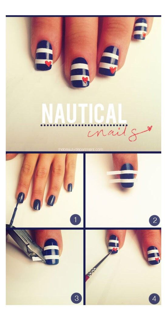 My latest find on trusper will literally blow you away like diy tips nails art 2017 2018 diy nautical nail design do it yourself fashion tips diy solutioingenieria Images