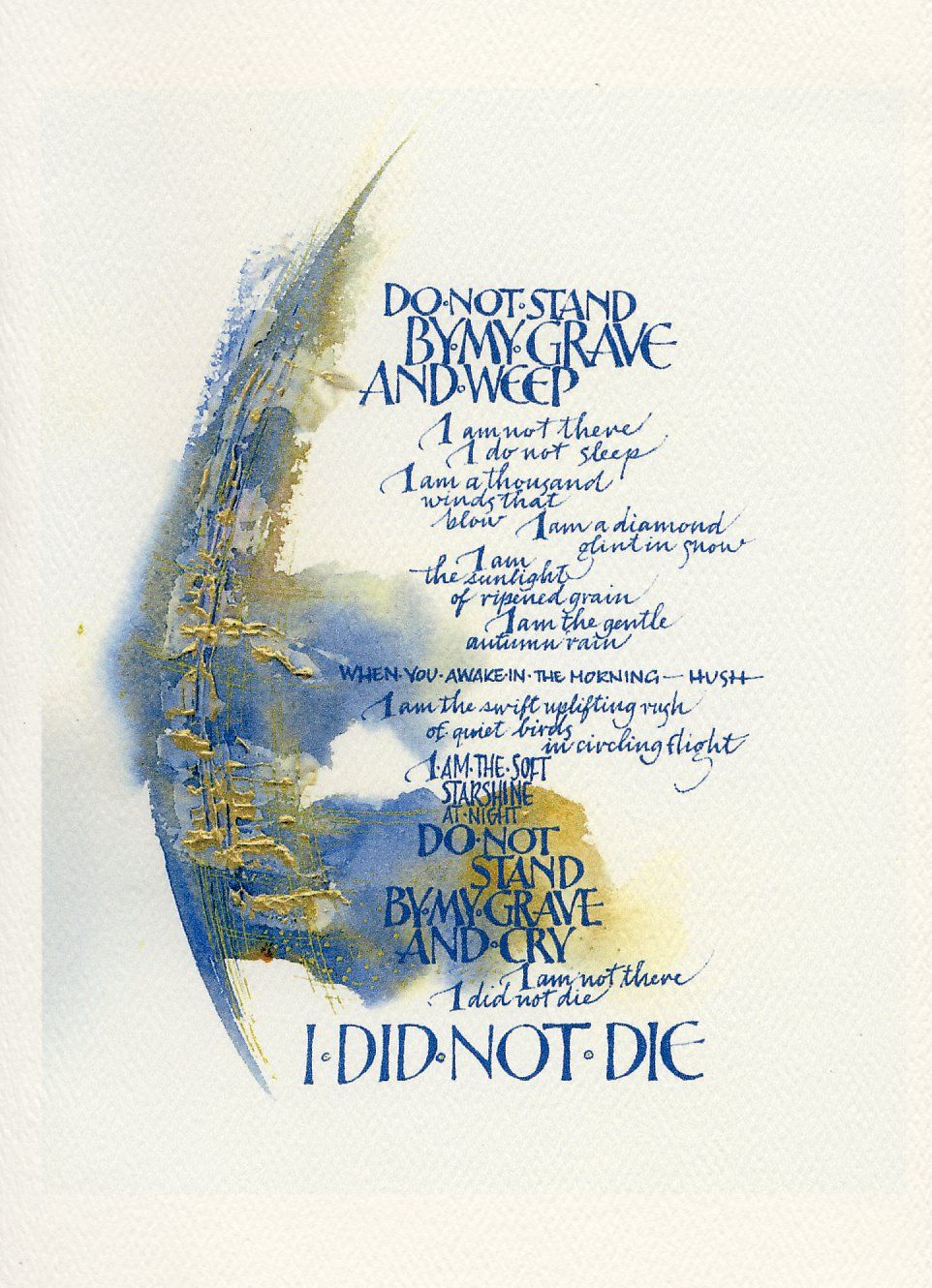 Sue Fraser A Tribute With Images Calligraphy Text