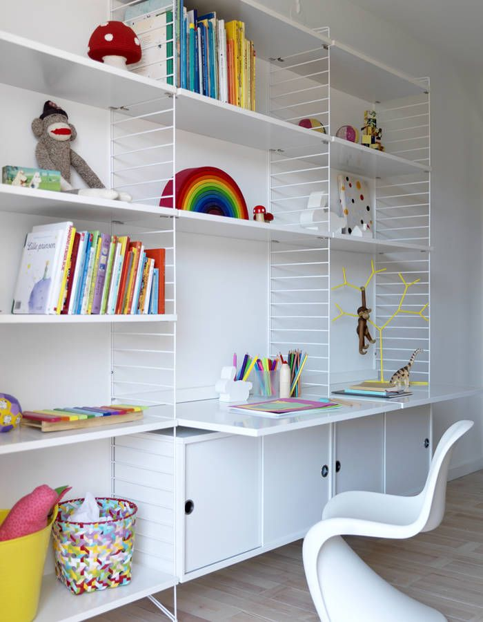 15 idees deco pour ranger les affaires scolaires des enfants elle decoration