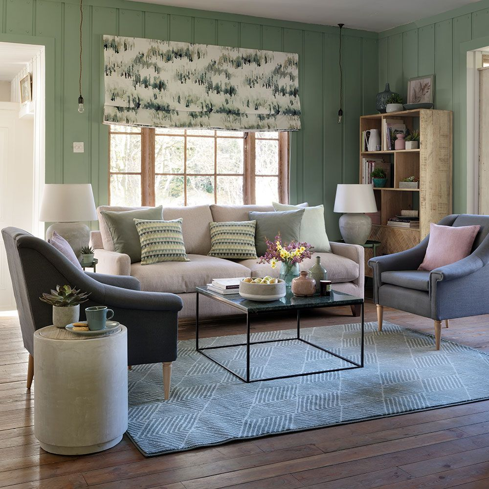 Grey And Green Living Room Ideas That Are Neutral And Pure Living Room Green Living Decor Living Room Carpet Green living room ideas