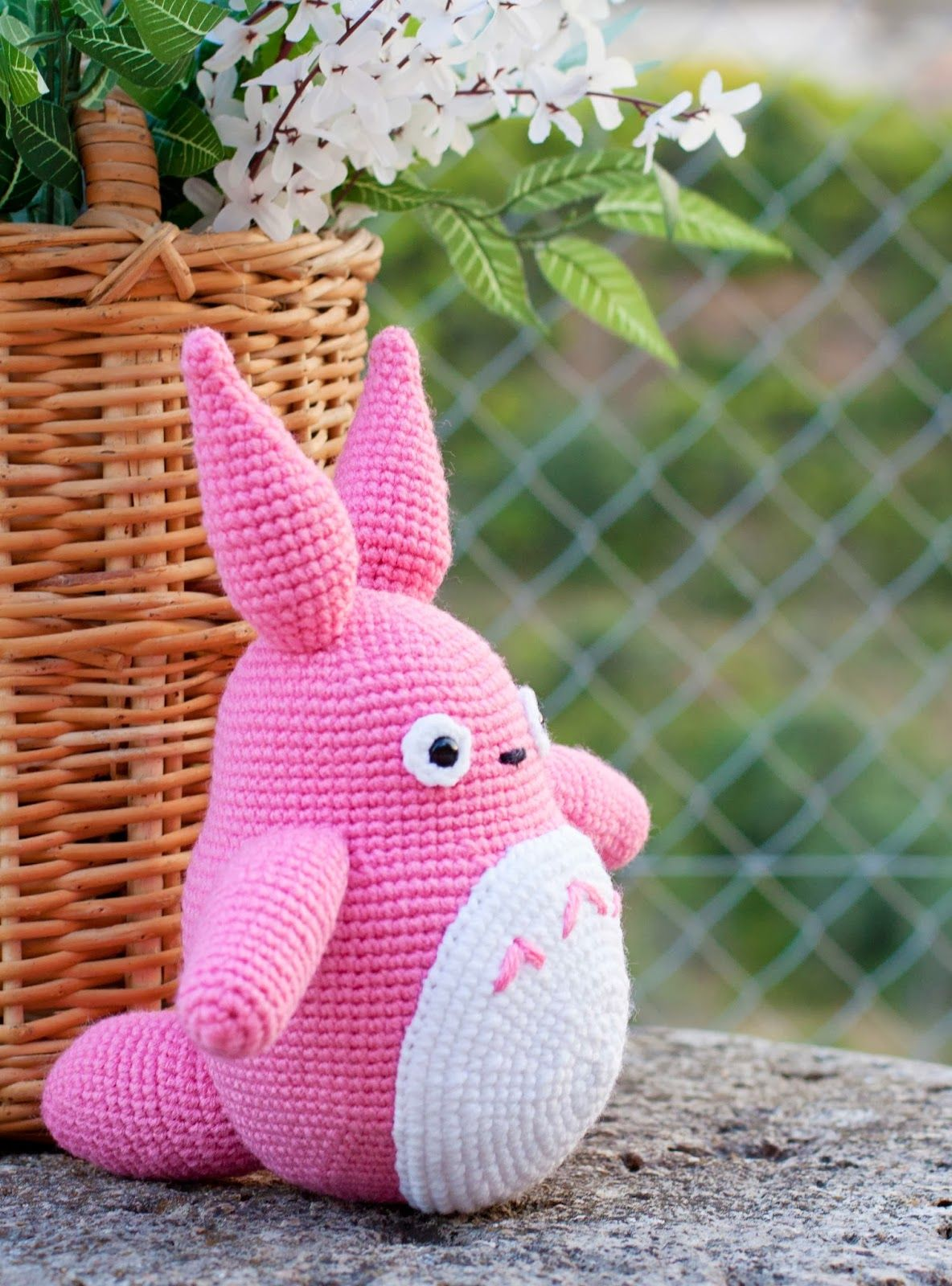Amigurumis Totoro Patron : Totoro rosa dolls pinterest caballos beb�s