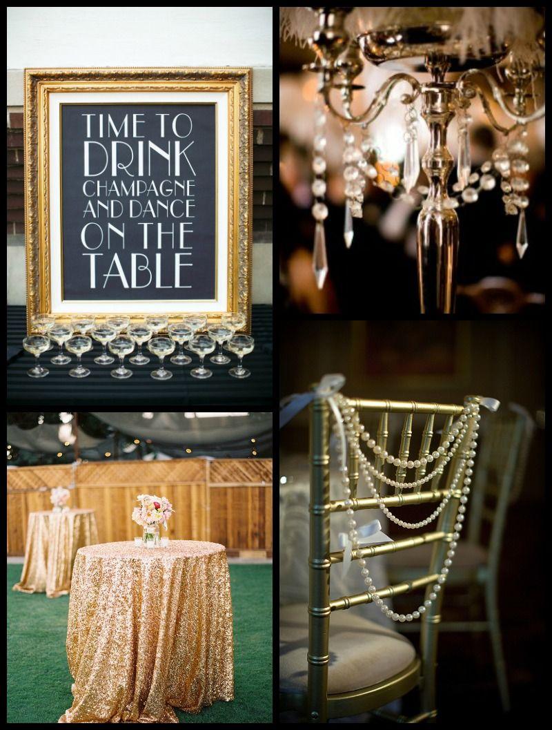 How To Throw A Great Gatsby Wedding Gatsby wedding Gatsby and Weddings