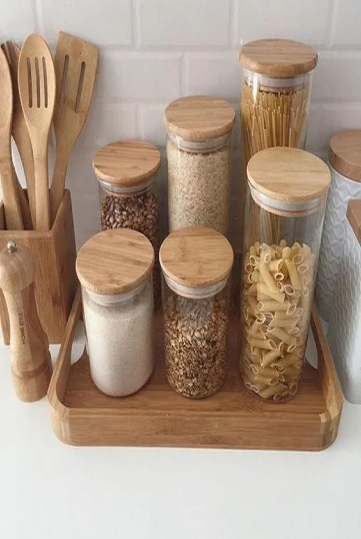 45 Fabulous Kitchen Cabinet Design For Apartment