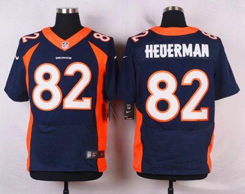 ... purchase mens denver broncos 82 jeff heuerman navy blue alternate nfl  nike elite jersey 275d4 030fe a780e98c3