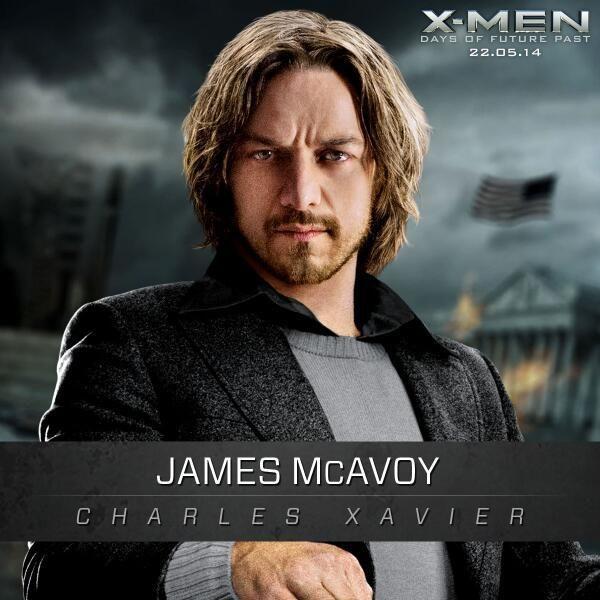 Promo Imagenes De X Men Dias Del Futuro Pasado Comics En 8mm Dias Del Futuro Pasado Hombres X James Mcavoy