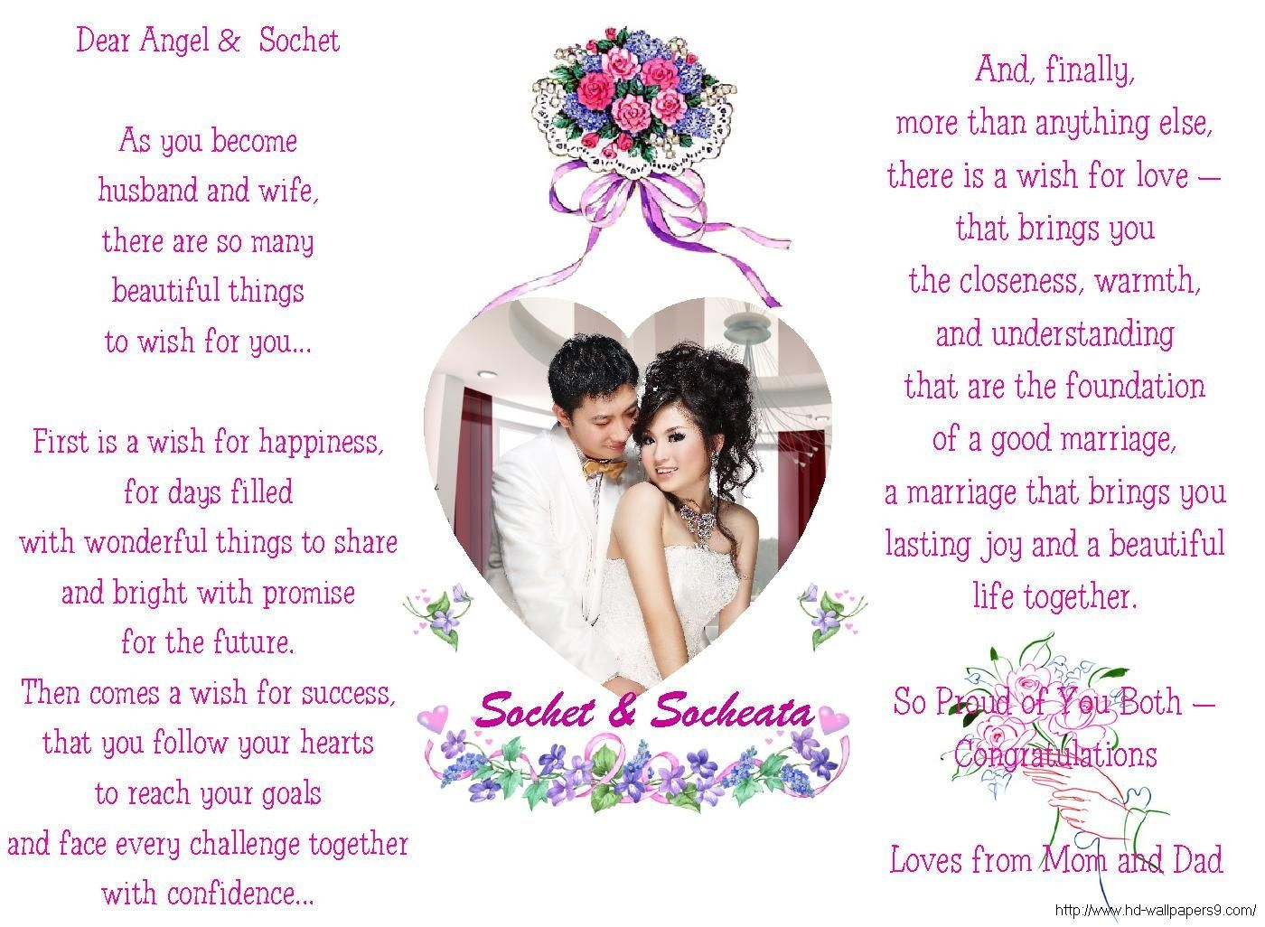 Love Quotes For Him On Our Wedding Day Happy Marriage Anniversary Greeting  Cards Hd Wallpapers Free