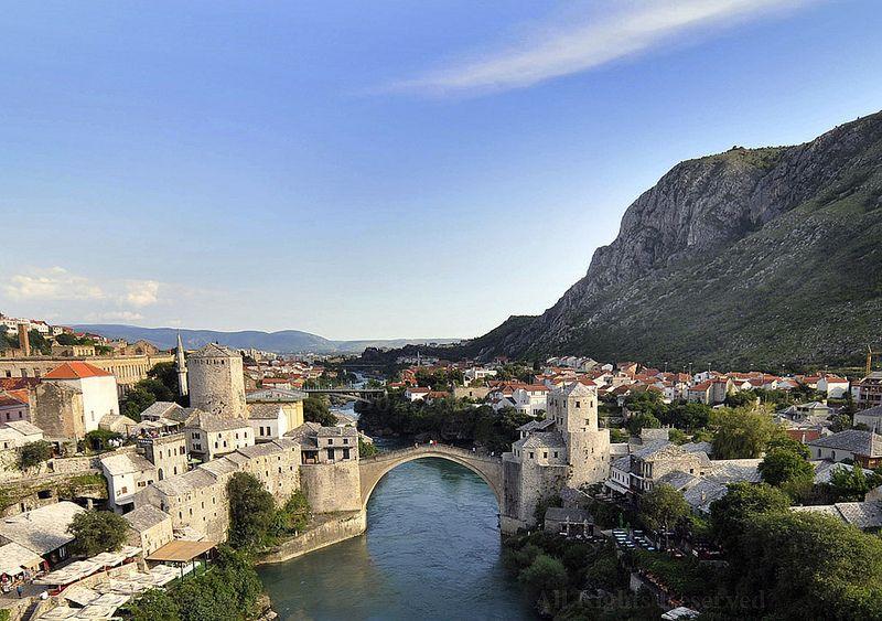 ...beautilul Mostar, Old bridge...Flickr