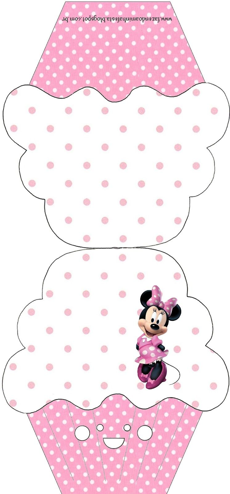 Kit Completo Minnie Rosa - Com molduras para convites, rótulos para guloseimas…