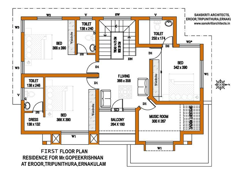 Image result for house plans 1200 sq ft building pinterest kerala construction estimating Make a house blueprint online free