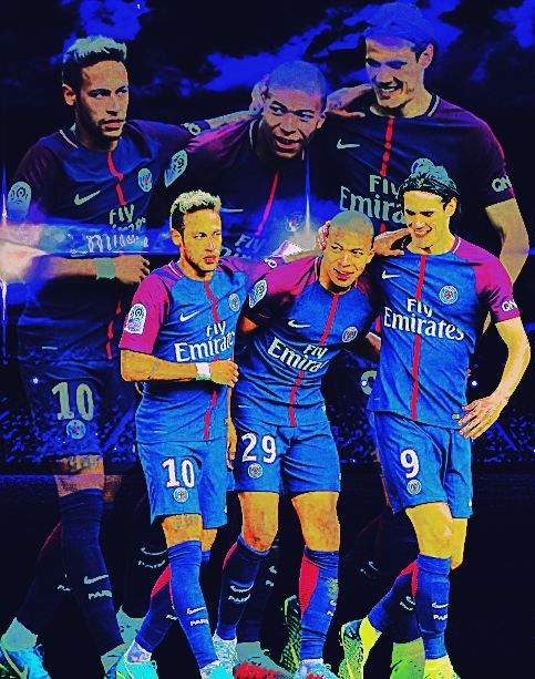 Neymar Kylian Mbappé Edinson Cavani   Footballeur, Psg, Neymar