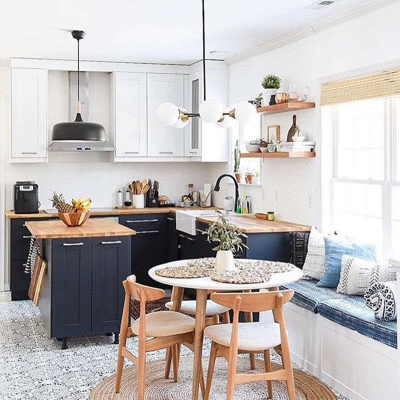 Style In Simplicity Visualized Open Plan Kitchen Living Room Dining Room Combo Dining Room Small